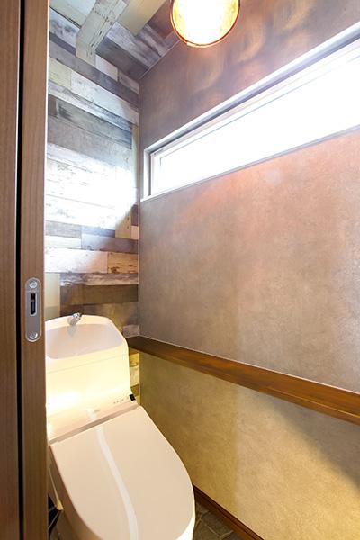かっこいい壁紙のトイレ