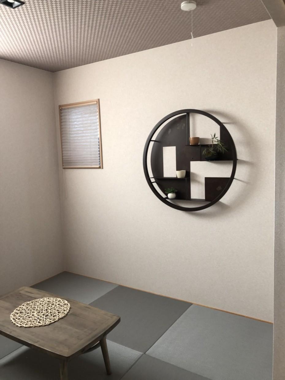 新しく完成した建売住宅の和室