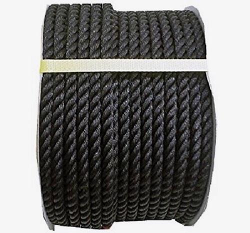 黒いロープ